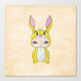 A Boy - Rabbit (coco lapin) Canvas Print