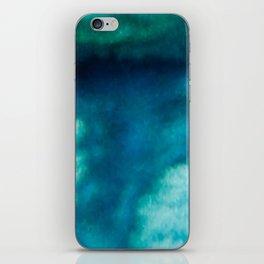 Blue Whirlwind iPhone Skin