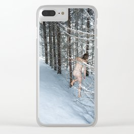 Northern Comfort Clear iPhone Case