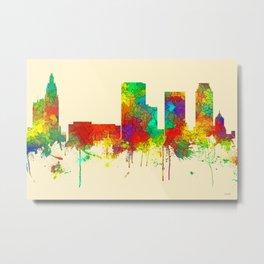 Tulsa Oklahoma Skyline - SG Metal Print