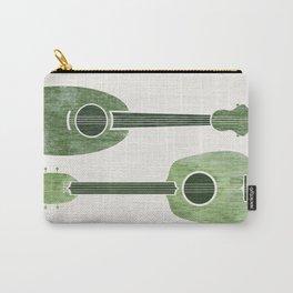 Hawaiian Ukuleles - Emerald Green Carry-All Pouch