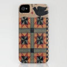 Cherries and Pinwheels iPhone (4, 4s) Slim Case