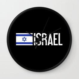 Israel: Israeli Flag & Israel Wall Clock