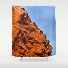 Thunder Cove Stone Sentinel Shower Curtain