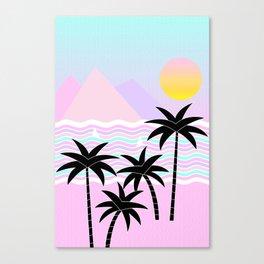 Hello Islands - Sunny Shores Canvas Print