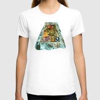 metallic T-shirts featuring Metallic by Vargamari