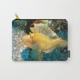 Yellow leaf fish Carry-All Pouch