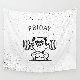 Leg Friday Wall Tapestry