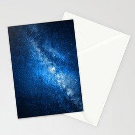 Azure Milky Way Stationery Cards