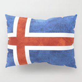 Icelandic Flag Pillow Sham
