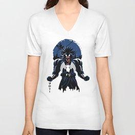 legendary symbiote Unisex V-Neck