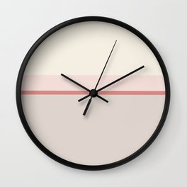 Minimal Abstract Cozy Cottage 02 Wall Clock