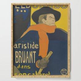 "Henri de Toulouse-Lautrec ""Eldorado: Aristide Bruant"" Serving Tray"