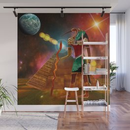 Ancient Secrets THOTH 3D Scifi Egyptian Wall Mural