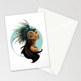 Tribal Princess Pocahontas Stationery Cards