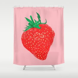 Strawberry, 2013. Shower Curtain