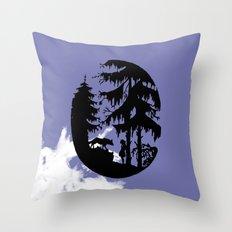 The Plea Throw Pillow
