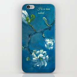 He is Risen Indeed! iPhone Skin