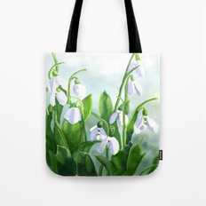 Teardrops in the Snow Tote Bag