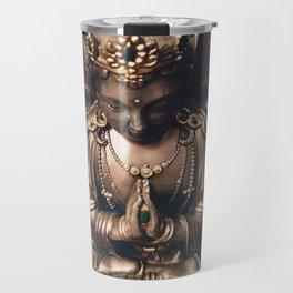 Praying Bodhisattva Travel Mug
