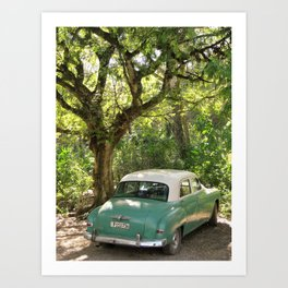 Cuban Afternoon Art Print