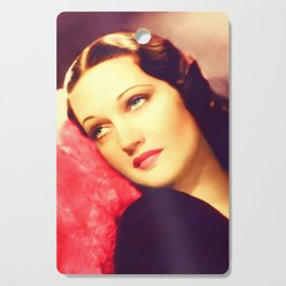Dorothy Lamour, Vintage Actress Cutting Board