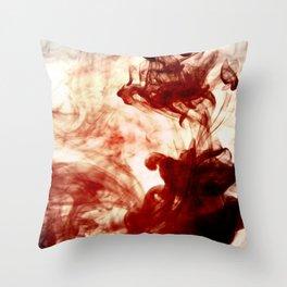 Dancing Ink, November Throw Pillow