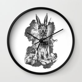 Pollution Mask Wall Clock