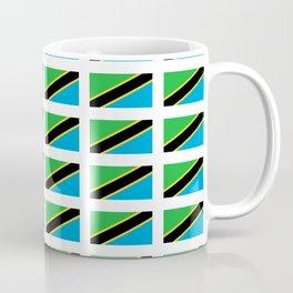 Flag of tanzania -Tanzania,Tanzanian,swahili,Dar es salam,Mwanza,Dodoma,Ngorongoro Coffee Mug