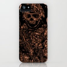 Military skull Slim Case iPhone (5, 5s)