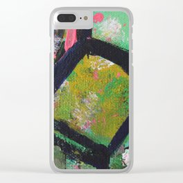 Hay Bale Clear iPhone Case