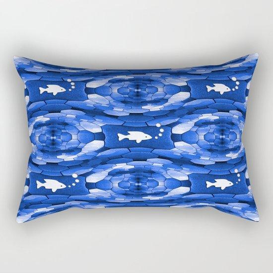 Bubblin' along... Rectangular Pillow