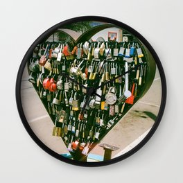 Where's the Key to your Heart? Wall Clock