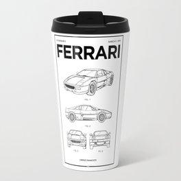 Sports Car Wall Art • Vintage Car Patent • Car Enthusiast Gift • Billionaire Gift Ideas Travel Mug