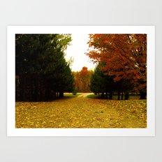 October Art Print