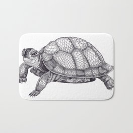 Turtle Pattern Bath Mat