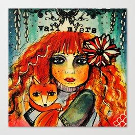 Vali Myers Canvas Print