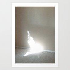 Angel In My Room Art Print