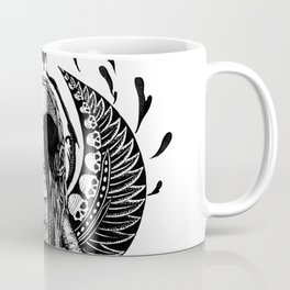 Lunar Warrior-Scarab Coffee Mug
