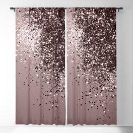 Sparkling Mauve Lady Glitter #1 #shiny #decor #art #society6 Blackout Curtain