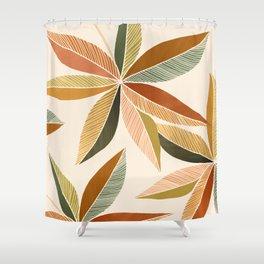 Autumn Japanese Maple / Botanical Design Shower Curtain