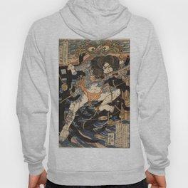 Utagawa Kuniyoshi  - One Hundred And Eight Heroes Hoody