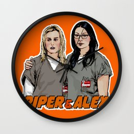 Piper & Alex Wall Clock