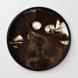 Steampunk Guinea Pig Wall Clock