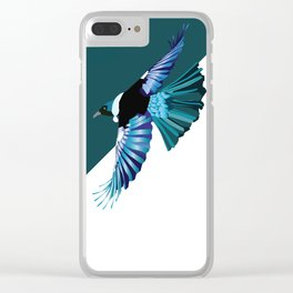 New Zealand Birds - The Tui Clear iPhone Case
