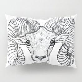 Ram Head Pillow Sham