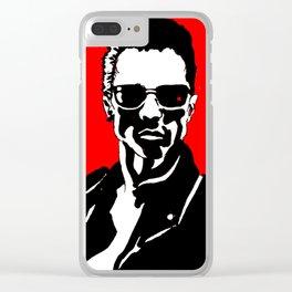 Arnold Schwarzenegger Clear iPhone Case