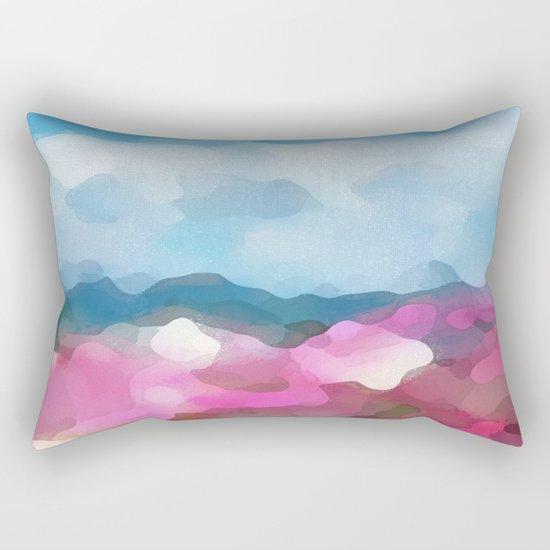 The Race Rectangular Pillow