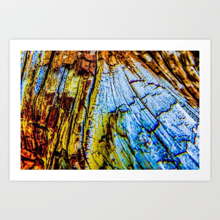 """""""Wood"""" Art Print"""