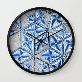 Tiling with pattern Wall Clock